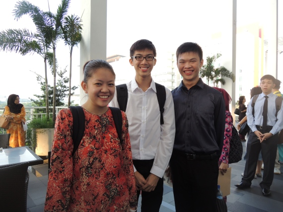 Yours truly, Ken and Jing Sheng