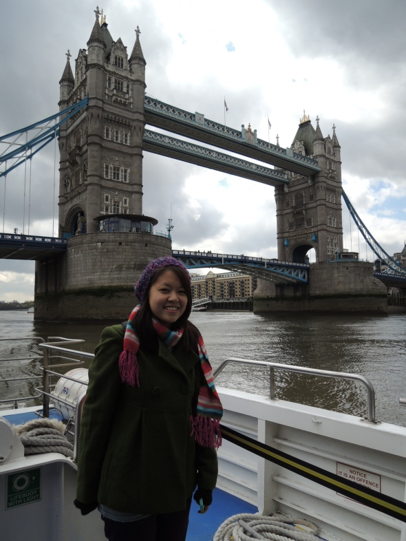 Tower Bridge (aka the bridge a lot of people mistake London Bridge as)