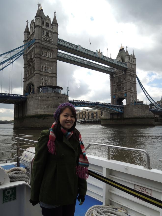 Tower Bridge (aka the bridge a lot of people mistake London Bridge as)