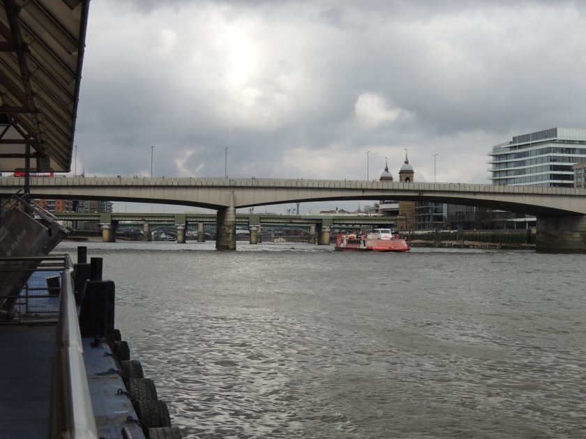 The real London Bridge, which is so anti-climactic