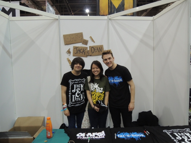 DEAN DOBBS, YOURS TRULY AND JACK HOWARD