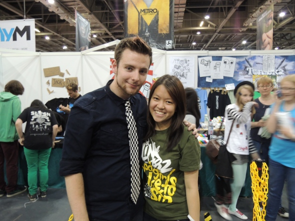 "WITH THOMAS ""TOMSKA"" RIDGEWELL"