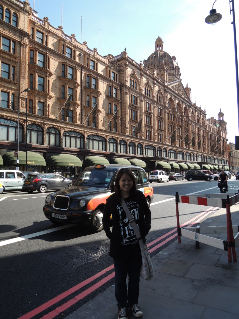 Harrods is so huge I'm not even kidding also Jack and Dean shirt hahaHA