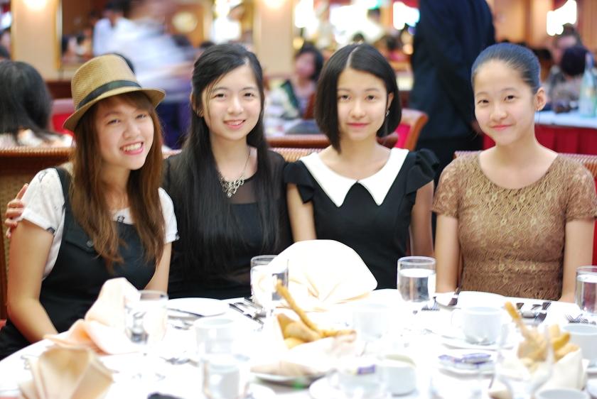 Yours truly, Kai Li, Shu Juin, Ah En