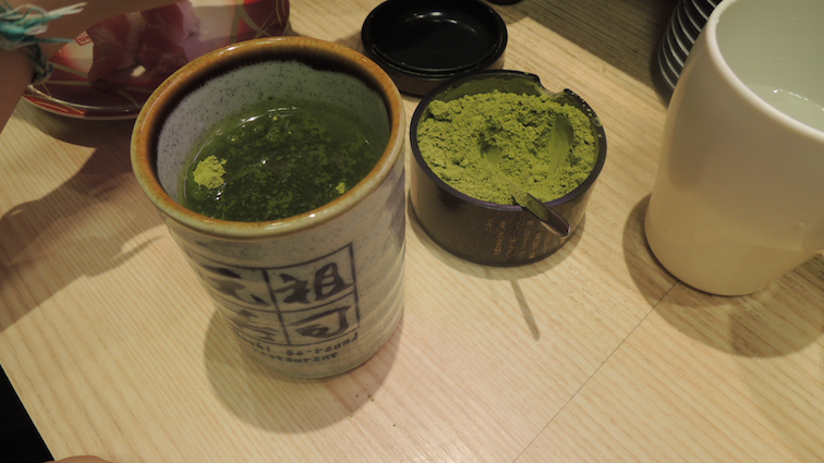 Mix your own matcha tea