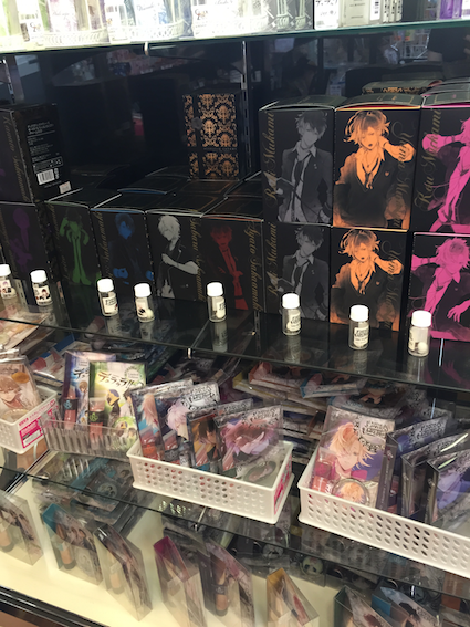Look at these Diabolik Lovers and Durarara fragrances. The entire concept is so outrageous but I was still tempted