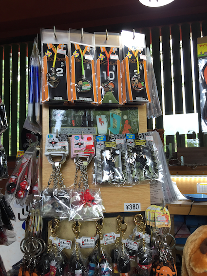 Once in Haikyuu hell, always in Haikyuu hell. Even in a souvenir shop in a temple